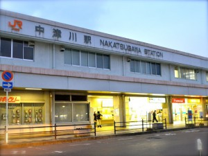 JR中津川駅『根の上そば』@岐阜県中津川市